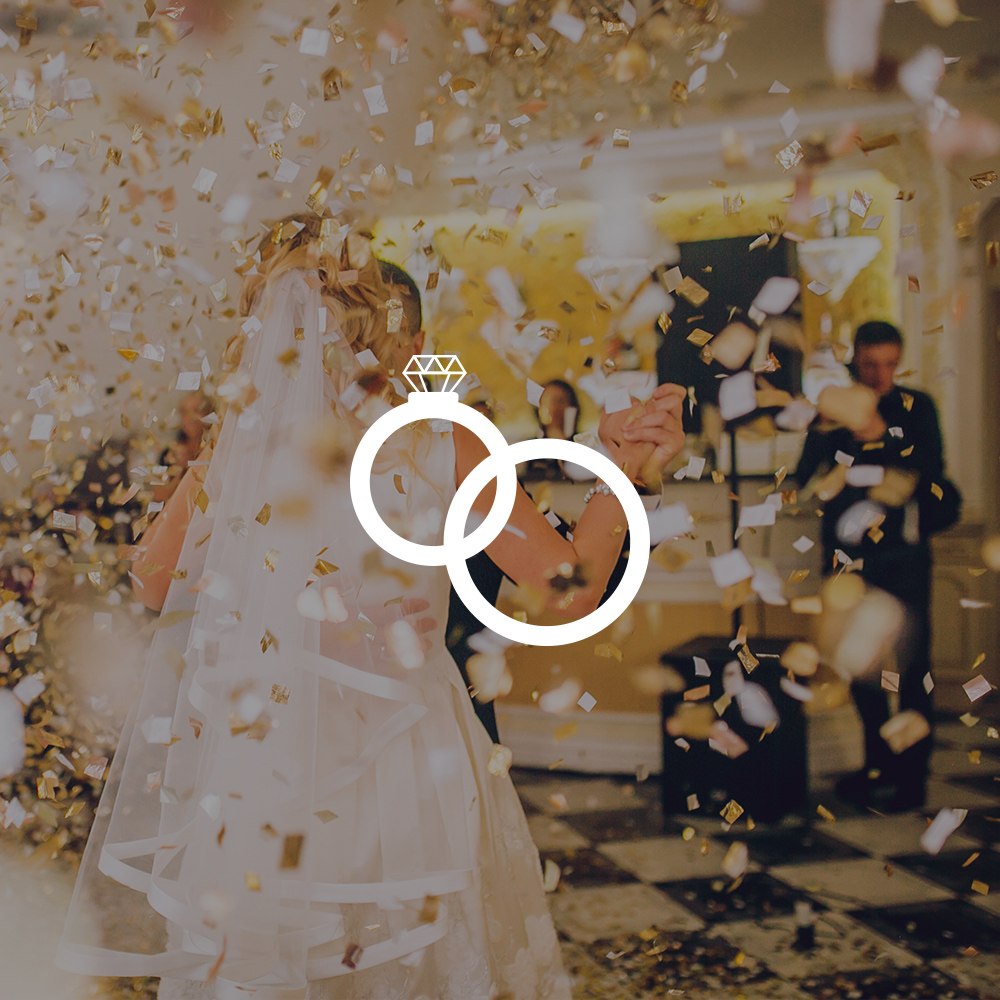 Bruiloft artiest